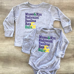 Parades Grey Long Sleeve (Baby/Kids)