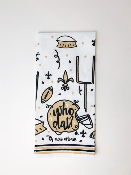Who Dat Kitchen Towel