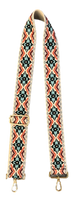 Medallion Guitar Strap (Multiple Color Options)