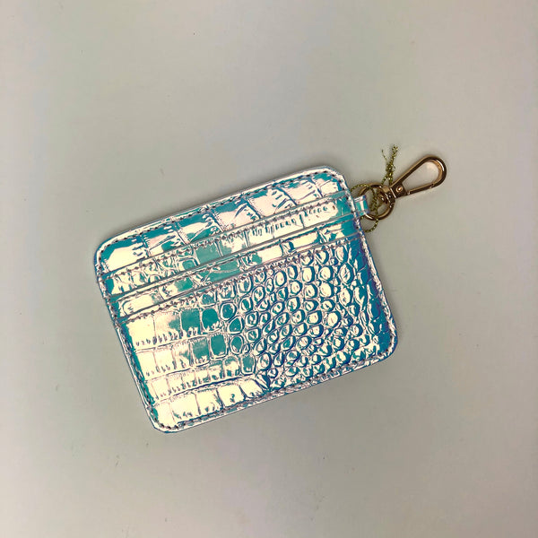 Iridescent Jelly Card Holder