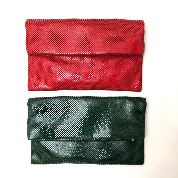 Holiday Shimmer Clutch