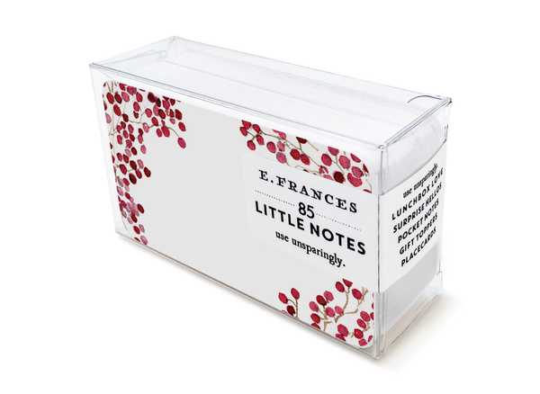 Little Notes Red Berries