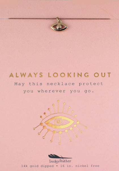 Always Looking Out Eye Necklace