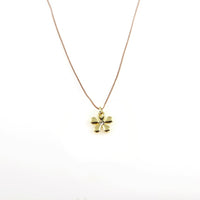 Let Hope Bloom Flower Necklace
