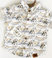 Who Dat Saints Button Down Shirt