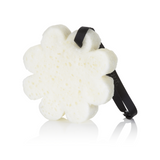 Sugar Crush Flower Shaped Spongelle Buffer Sponge on a String