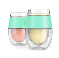 Wine Freeze Cooling Cups, 2pack