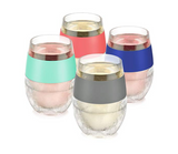 Wine Freeze Cooling Cups, 4pack