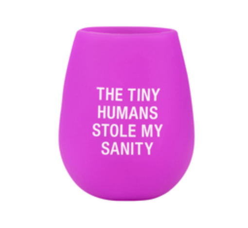 Silicone Wine Glass, Stole My Sanity