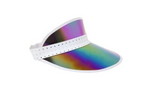 Retro Sun Visor, Midnight Iridescent