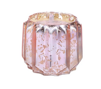 Sweet Grace Pink Mercury Glass Candle #021