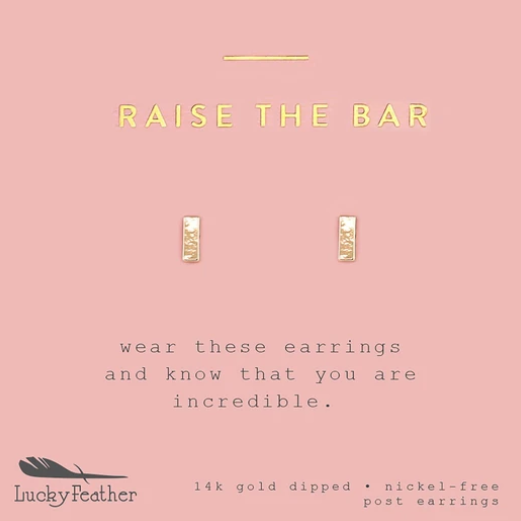 Raise the Bar Earrings