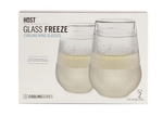 Glass Freeze Wine Glass, Set of 2