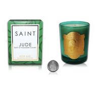 Saint Jude Special Edition Candle, Rose and Sandalwood