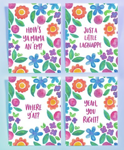 NOLA Sayings Card Set