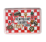 New Orleans Calories Tray