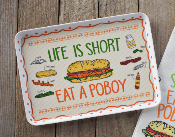 Life is Short Snack Tray