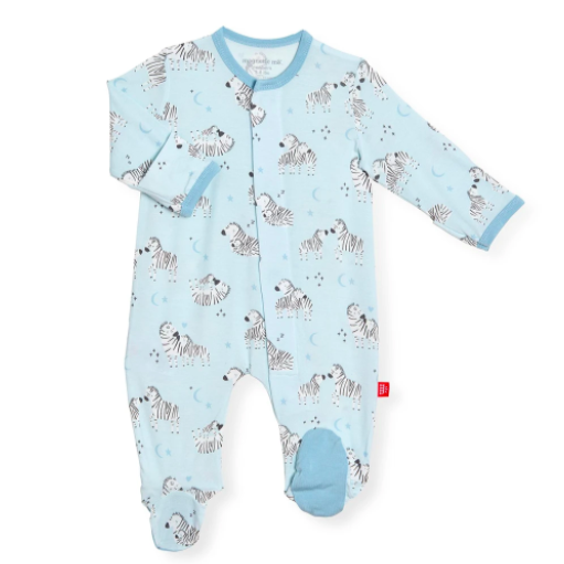 Magnetic Footie PJ, Blue Little Ones