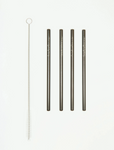 Reusable Cocktail Straw Set (Multiple Colors)