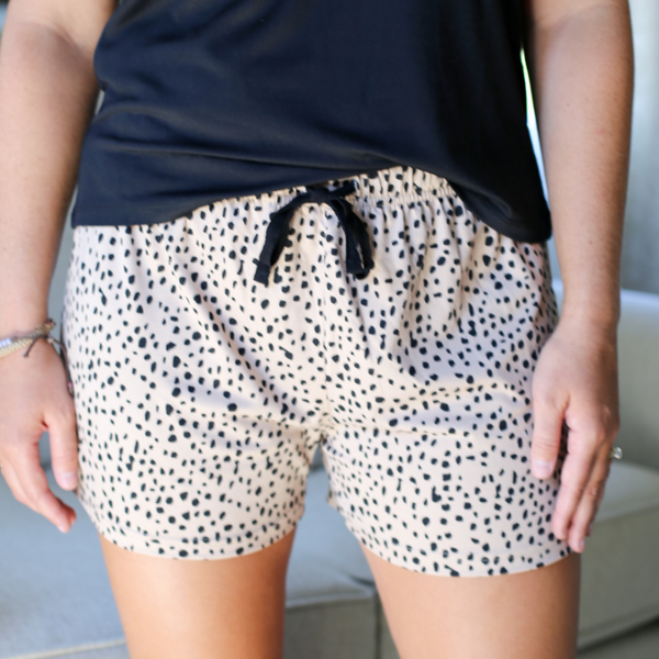 Cheetah PJ Shorts