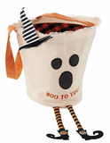 Halloween Canvas Candy Bag