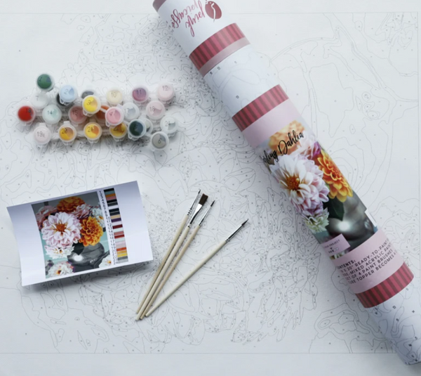 Paint By Numbers, Darling Dahlia