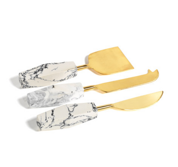 Stonedust Set of 3 Cheese Knives