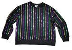 PRE SALE Mardi Gras Sequin Stripe Top