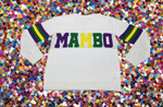 Mambo Mardi Gras Sweater WITHOUT Sparkles