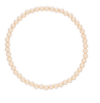 Gold Bead Bracelet, Classic Gold 4mm