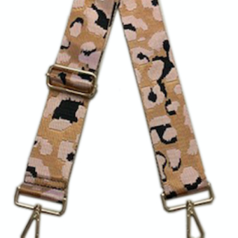 Leopard Guitar Strap (Multiple Color Options)