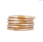 Budha Girl All Weather Bangles - Champagne