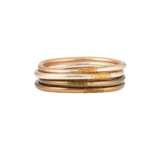 Budha Girl All Weather Bangles - Fawn