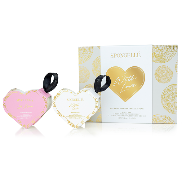 With Love Spongelle Gift Set