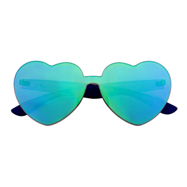 Sunnies, Midnight Iridescent Heart