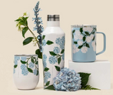 Corkcicle Travel Coffee Mug- Hydrangea