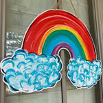 Rainbow Door Hanger