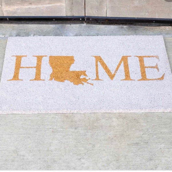 Louisiana Home Coir Doormat