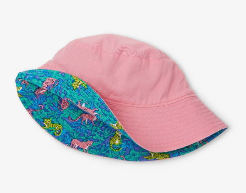 Jungle Cats Reversible Sun Hat
