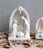 Ceramic Nativity 6.5""