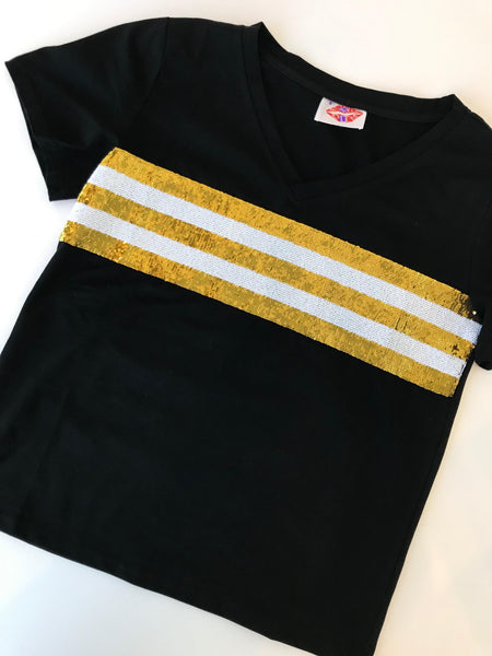 Show Your Stripes Sparkle Tee