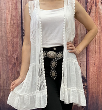 Load image into Gallery viewer, Nova Lace Vest
