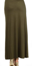 Load image into Gallery viewer, Olive Maxi Skirt