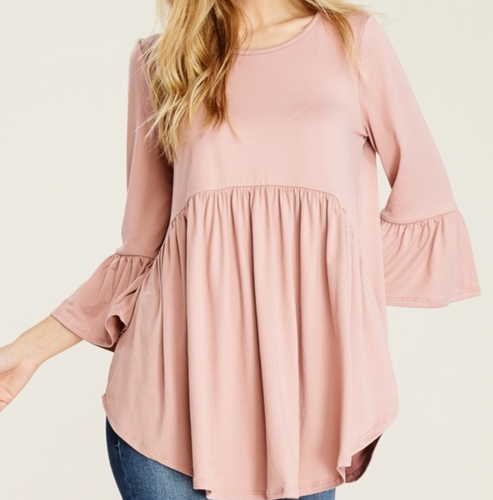 Plus Size Soft and Buttery Tunic