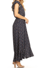 Load image into Gallery viewer, Navy Garden Dress