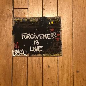 Graffiti Artwork - Forgiveness is Love