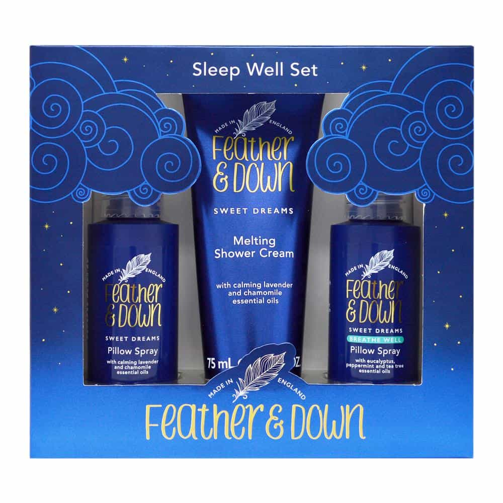 Feather & Down Sleep Well Gift Set - Feather and Down