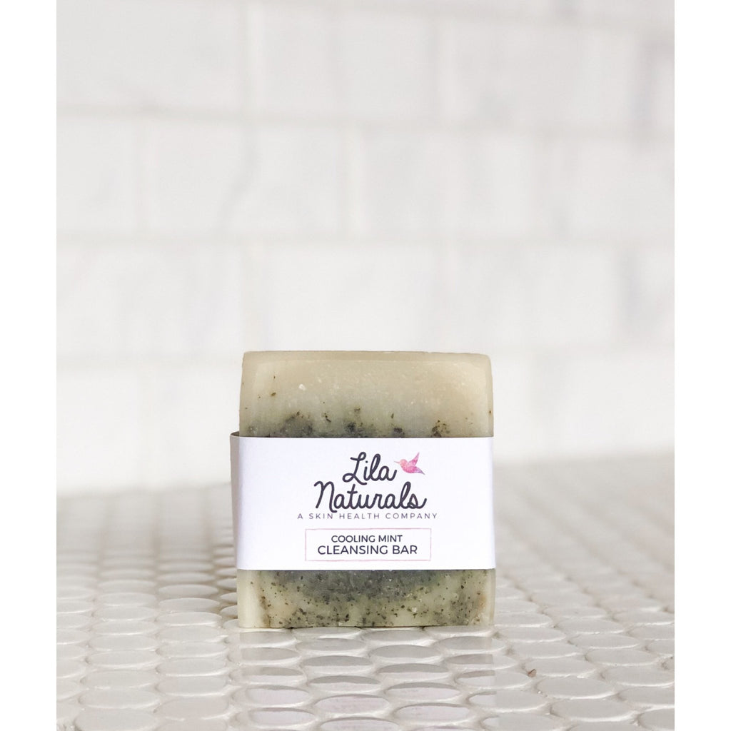 Cleansing Bar : Cooling Mint - Lila Naturals