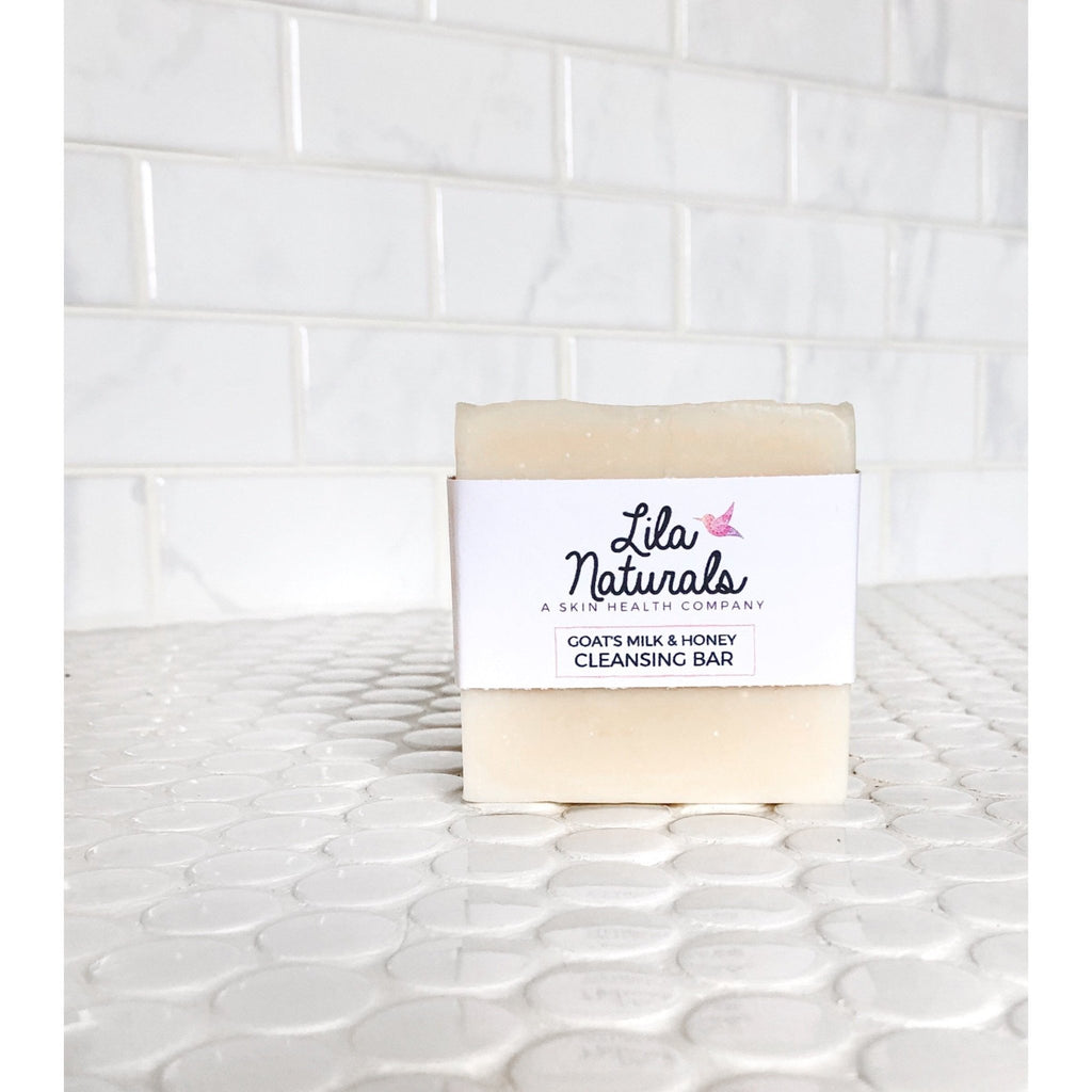 Cleansing Bar : Goats Milk & Honey - Lila Naturals