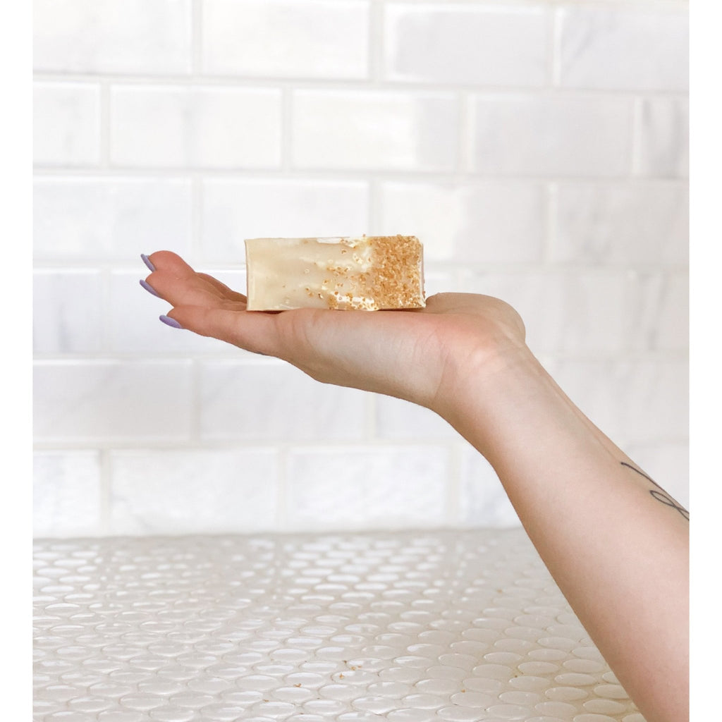 Cleansing Bar : Lemon Lift - Lila Naturals